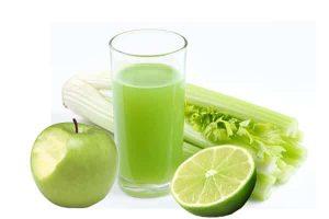 Green apple celery smoothie