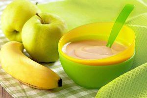 Homemade fruit puree