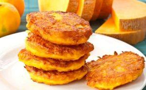Pumpkin flapjacks