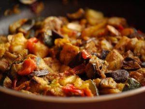 Turkey stew with vegetables