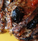 Spareribs with prunes