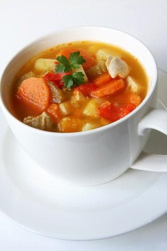Быстрый-овощной-суп