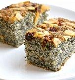 Poppy seed tray-bake