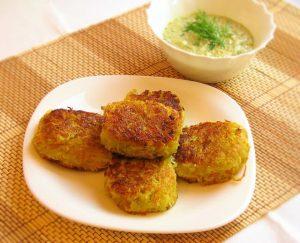 Crunchy vegetable cutlets