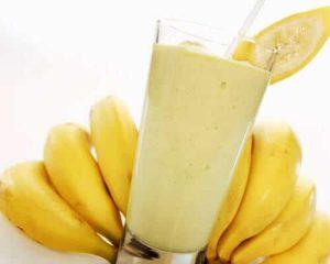 Banana and honey smoothie