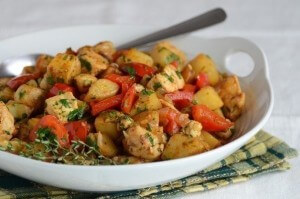 Turkey stew with root vegetables