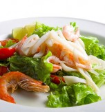 Seafood and Vegetable Salad