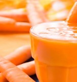 Carrot, Apple, and Banana Smoothie