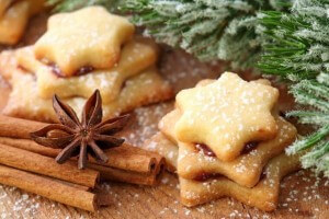 Honey cookies for Saint Nicholas Day