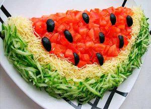 Salad 'Watermelon'