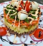 New Year Festive Salad