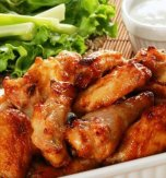 Chicken Wings and Drumsticks in Honey, Soy, and Garlic Sauce