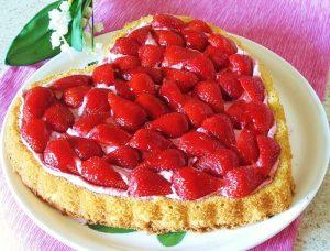 Cake 'Raspberry heart'