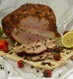 Flavored Pork Tenderloin Roasted in the Oven