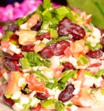 Tuna and Haricot Beans Salad