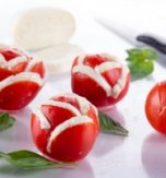 Tomato and Brynza Appetizer