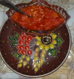 Adzhyka Sauce (Tomato and Red Bell Pepper Sauce)