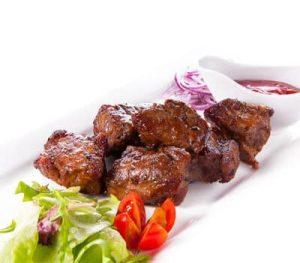 Mutton shashlik