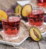 Homemade Plum Nalyvka (Liqueuer)