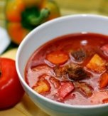 Beef and Potato Soup (Carpathian Recipe)
