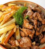 Stir-fried pork with potatoes