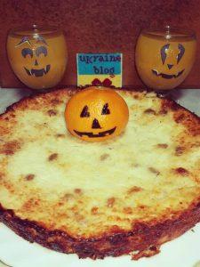 Pumpkin pie for Halloween