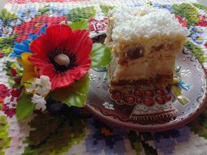 Pastry cream cake