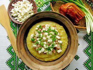 Ukrainian cornmeal mush