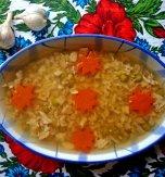 Rooster kholodets (Ukrainian meat aspic)