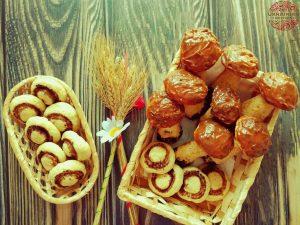 Cookies mushrooms