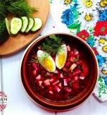 Cold beet soup – Cool version of summer borsch