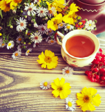 Berry herbal tea – Fall in a cup