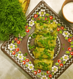 Mushroom stuffed cabbage rolls – Vegetarian holubtsi