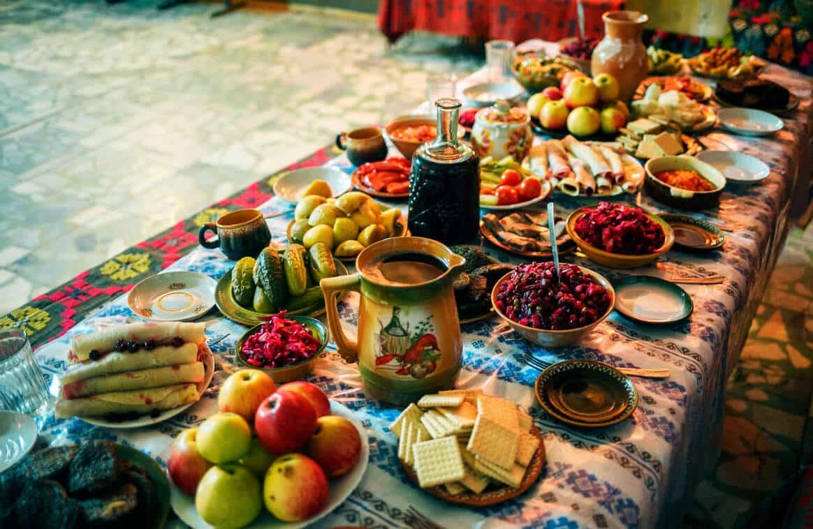 Ukrainian Christmas.Ukrainian Christmas Eve Dinner Recipes And Customs
