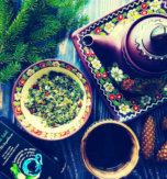 Carpathian herbal berry tea