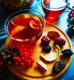 Uzvar (Dried fruit compote) – Popular Ukrainian Christmas drink