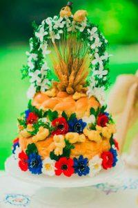 Ukrainian wedding bread