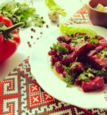 Shpundra – Pork and beetroot stew