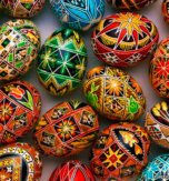 Pysanky – 26 Ukrainian Easter eggs from different regions of Ukraine