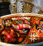 Pysanky Designs in Gucci Fashion