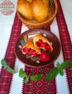 Strawberry buns
