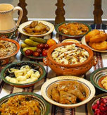 Fasting dishes in the Ukrainian cuisine