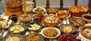 Lean dishes in Ukraine