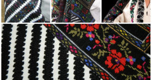 Ukrainian embroidery in Borshchiv style