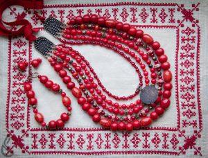 Ukrainian necklaces