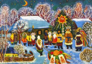 New Year preparations in Ukraine