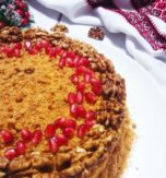 Ukrainian honey cake