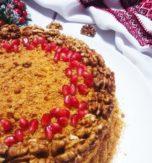 Ukrainian honey cake