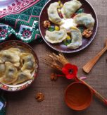 Dumplings with poppy seeds
