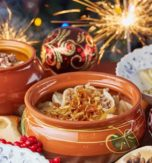 Traditional Old New Year foods in Ukraine